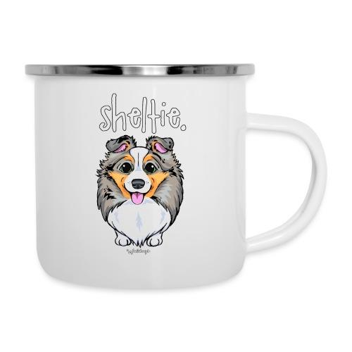 Sheltie Dog Cute 4 - Camper Mug