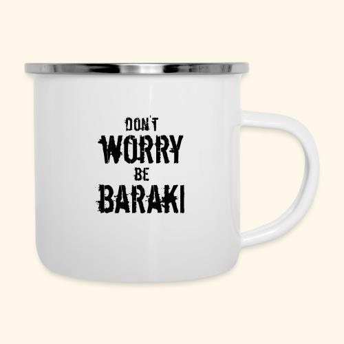 Be Baraki (Noir) - Tasse émaillée