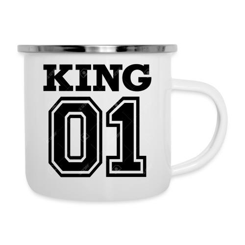 King 01 - Tasse émaillée