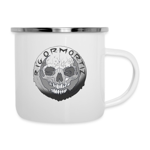 Rigormortiz Black and White Design - Camper Mug