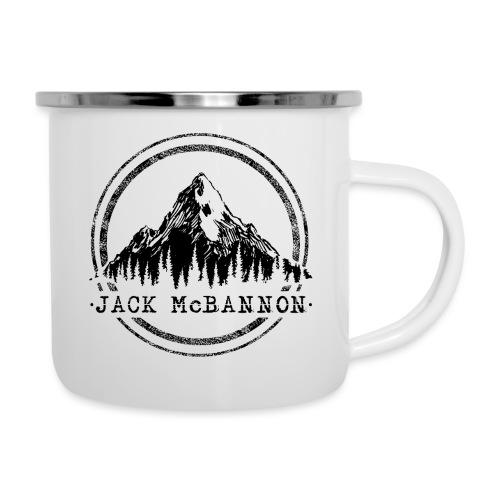 Jack McBannon - Mountain II - Emaille-Tasse