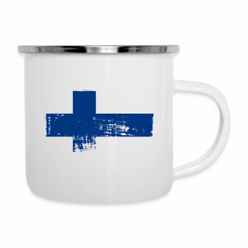 Suomen lippu, Finnish flag T-shirts 151 Products - Emalimuki