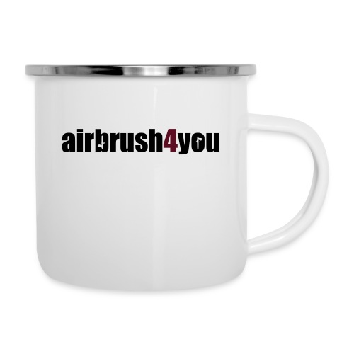 Airbrush 4 You - Emaille-Tasse