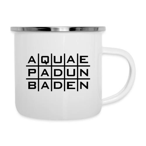 Aquae Padun Baden Invers - Emaille-Tasse