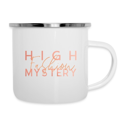 High Fashion Mystery - Emaille-Tasse