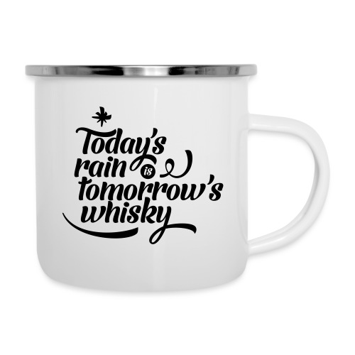 Today's Rain - Camper Mug