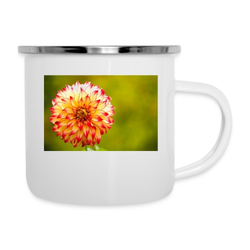 Blomst - Emaljekrus