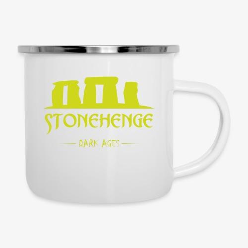 STONEHENGE - Tazza smaltata