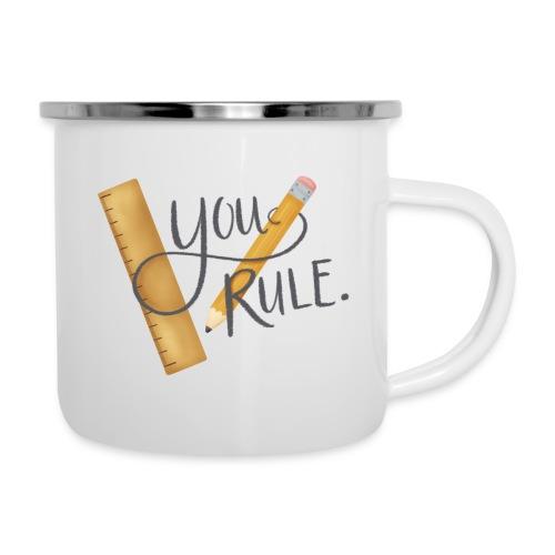 You rule! - Emaljmugg