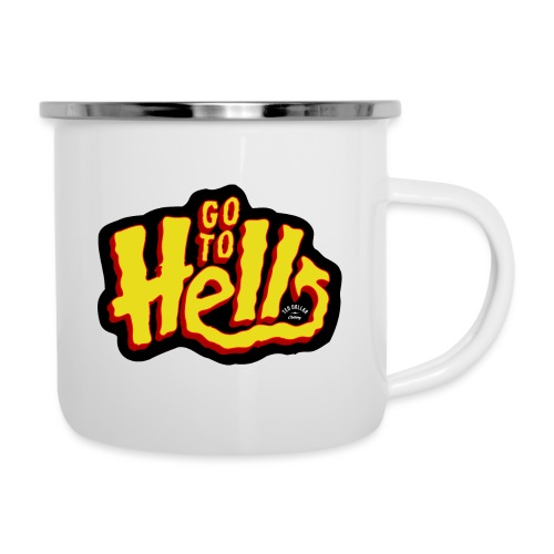 Go to Hell - Tasse émaillée