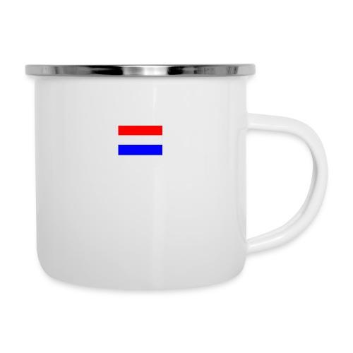 vlag nl - Emaille mok