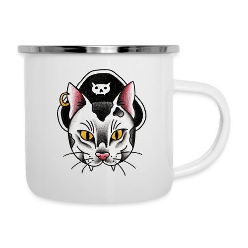 Piratecat - Tazza smaltata