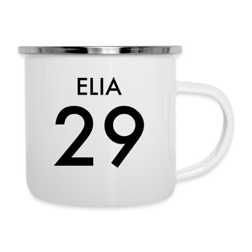 29 ELIA - Emaille-Tasse