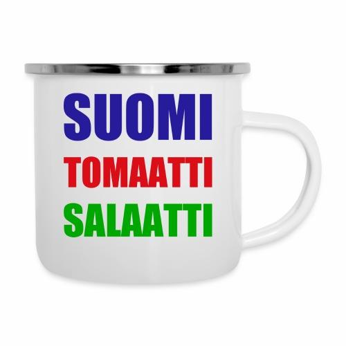 SUOMI SALAATTI tomater - Emaljekopp