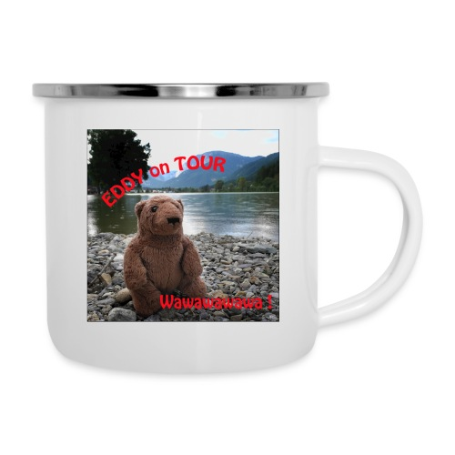 EDDY am See - Emaille-Tasse