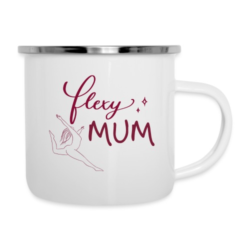Flexy Mum - Emaille-Tasse