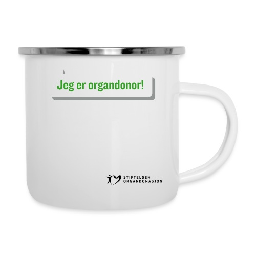 Jeg er organdonor - Emaljekopp