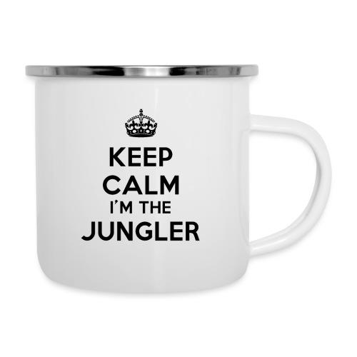 Keep calm I'm the Jungler - Tasse émaillée