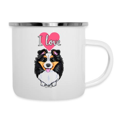 Sheltie Dog Love - Camper Mug
