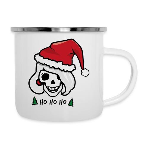 Rockabilly Weihnachten - Emaille-Tasse