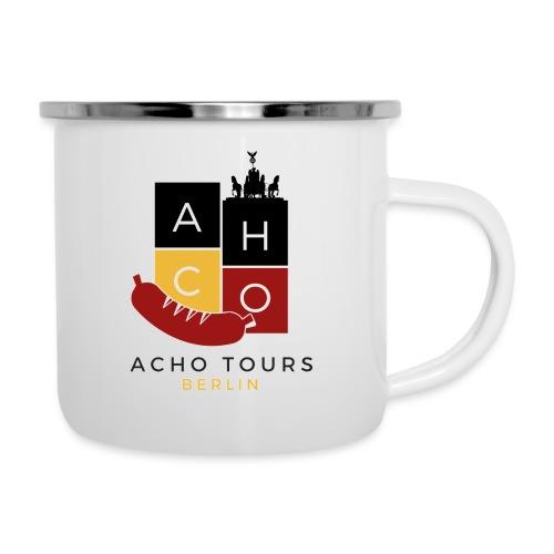 "ACHOtours ""Destination: Berlin"" - Taza esmaltada"