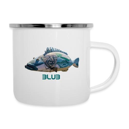 Fisch - Emaille-Tasse