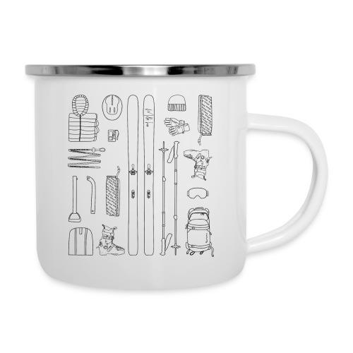 Ski touring - Camper Mug
