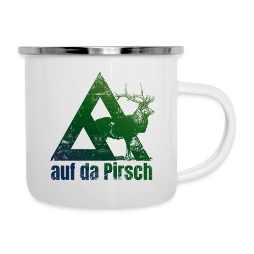 Auf da Pirsch - Emaille-Tasse