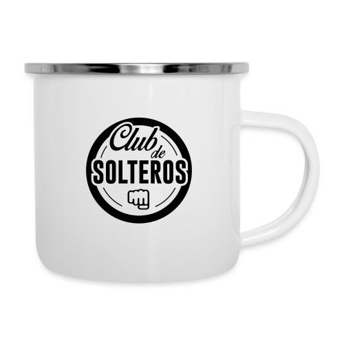 Club de Solteros (logo negro) - Taza esmaltada