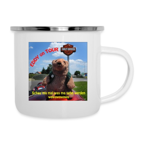 EDDY on the Road - Emaille-Tasse