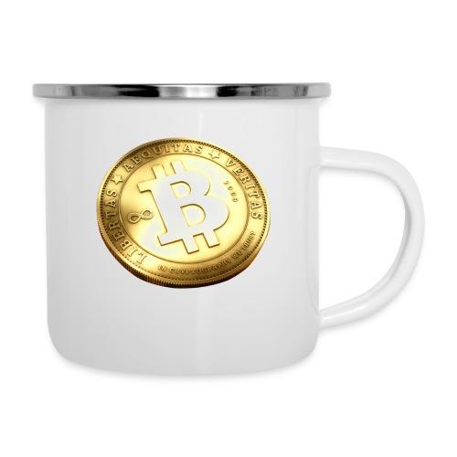 Bitcoin - Emaljmugg