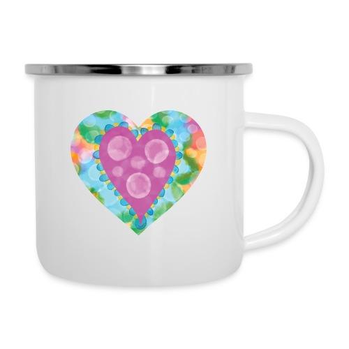 Heart Bubbles make you float - Camper Mug