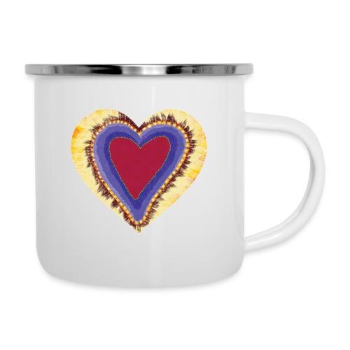 Red heart passion Symbol - Camper Mug