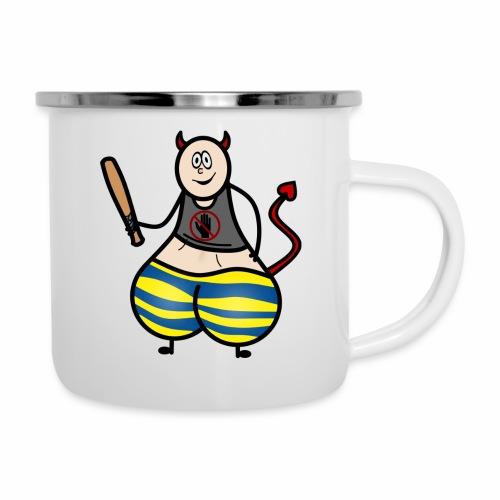 Devil No Touchies Charlie - Camper Mug