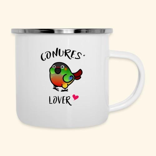 Conures' Lover: opaline - Tasse émaillée