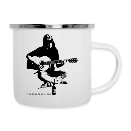 Cynthia Janes guitar BLACK - Camper Mug