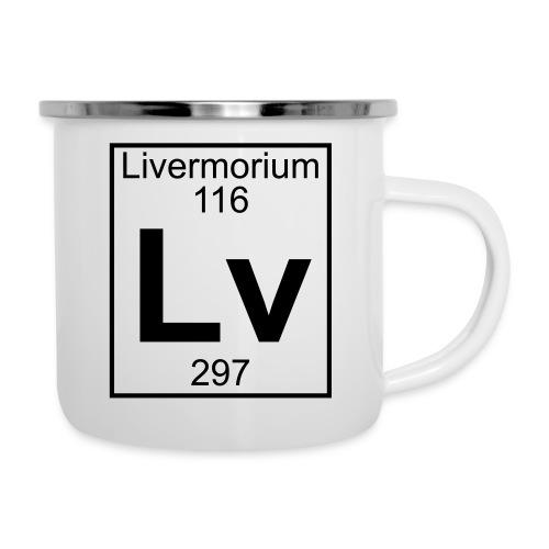 Livermorium (Lv) (element 116) - Camper Mug