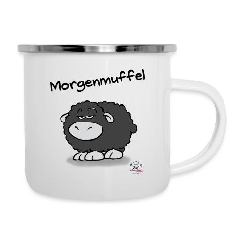 Tasse Olaf Morgenmuffel - Emaille-Tasse