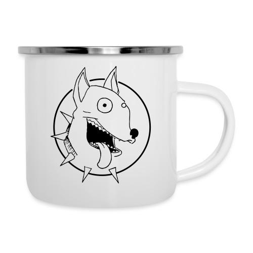 chien fou - Tasse émaillée