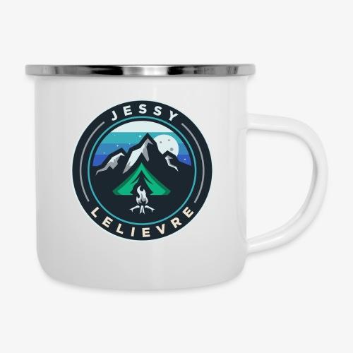 Jessy Lelievre logo 1 - Tasse émaillée