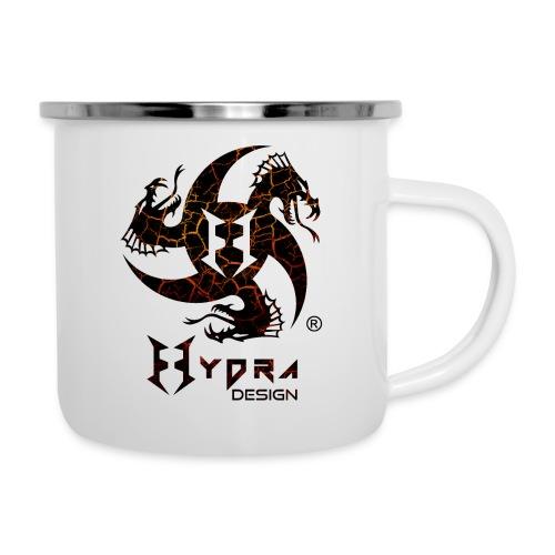 Hydra Design - logo Cracked lava - Tazza smaltata