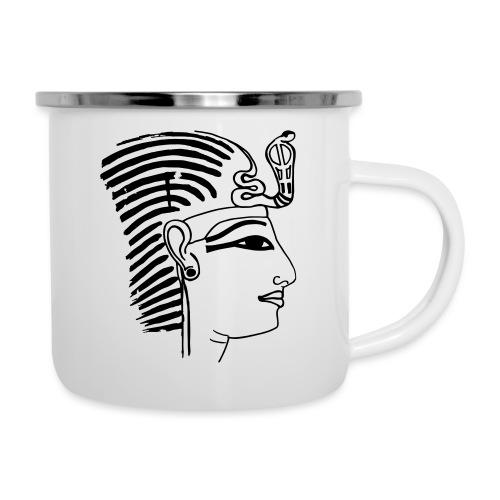 Pharao SethosI Ägypten - Emaille-Tasse