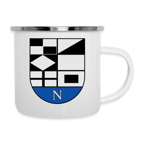 1200px Coat of arms of Neringa Lithuania svg - Emaille-Tasse