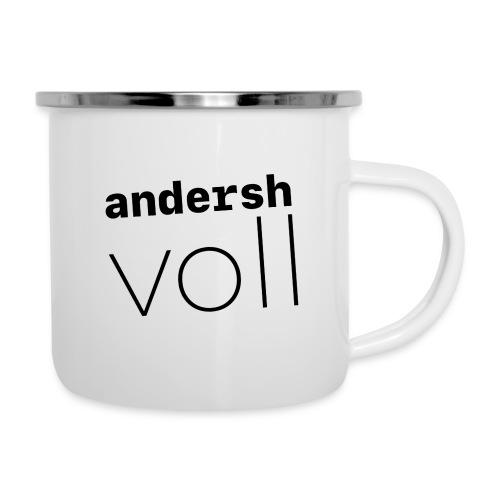 andersh voll - Emaille-Tasse