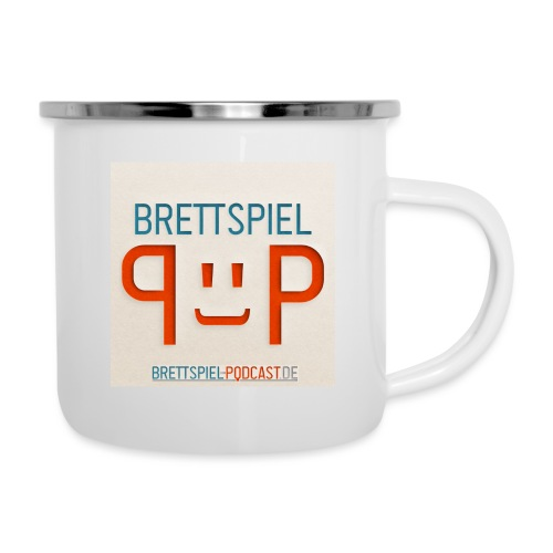 Brettspiel-Podcast.de - der Merch - Emaille-Tasse