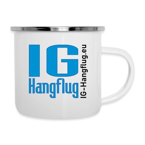 IG-Hangflug - Emaille-Tasse
