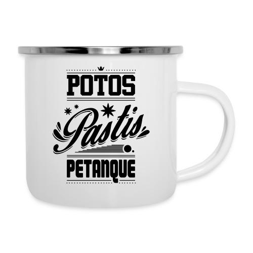 POTOS PASTIS PETANQUE - Tasse émaillée