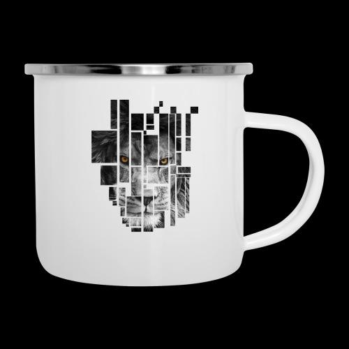 Pixel Lion Tattoo Inspire - Camper Mug
