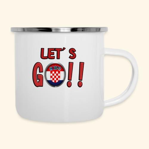 Go Croatia - Tazza smaltata