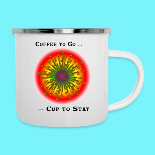 Coffee to go ... cup to stay - Camper Mug
